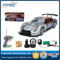 1:14 R/C drift car with battery and charger/RC car with blue and red light on wheel -cobalt/RC drift with ASTM,HR4040,EN71