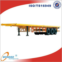 High Quality Transportation 3 Axle Flatbed Semi Trailers for Sale