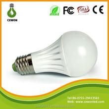 AC85-265V 7W Ceramic CE Rohs approved smd 5630 led light bulb e27
