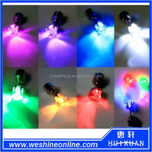 Fashion New Design Blinking Party Earrings / Led Flash Glowing Earrings