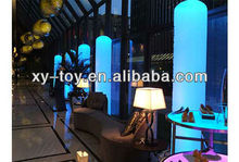 Parte inflables tubo iluminado/inflables de iluminación de la decoración, inflables decoración de la luz