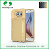 New products business type cellphone PU TPU leather phone case with card slot for samsung galaxy s6 / s6 edge case cover