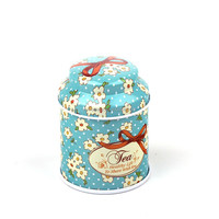 popular chocolate tin box round biscuit tin box cute cartoon shape food package tin box HQTB0013