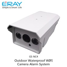 Multi language New outdoor waterproof WIFI IP camera Built-in SD Or TF Slot Card