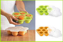 100% Food Grade Hot Selling high quality Non-stick Silicone Baby Food Container