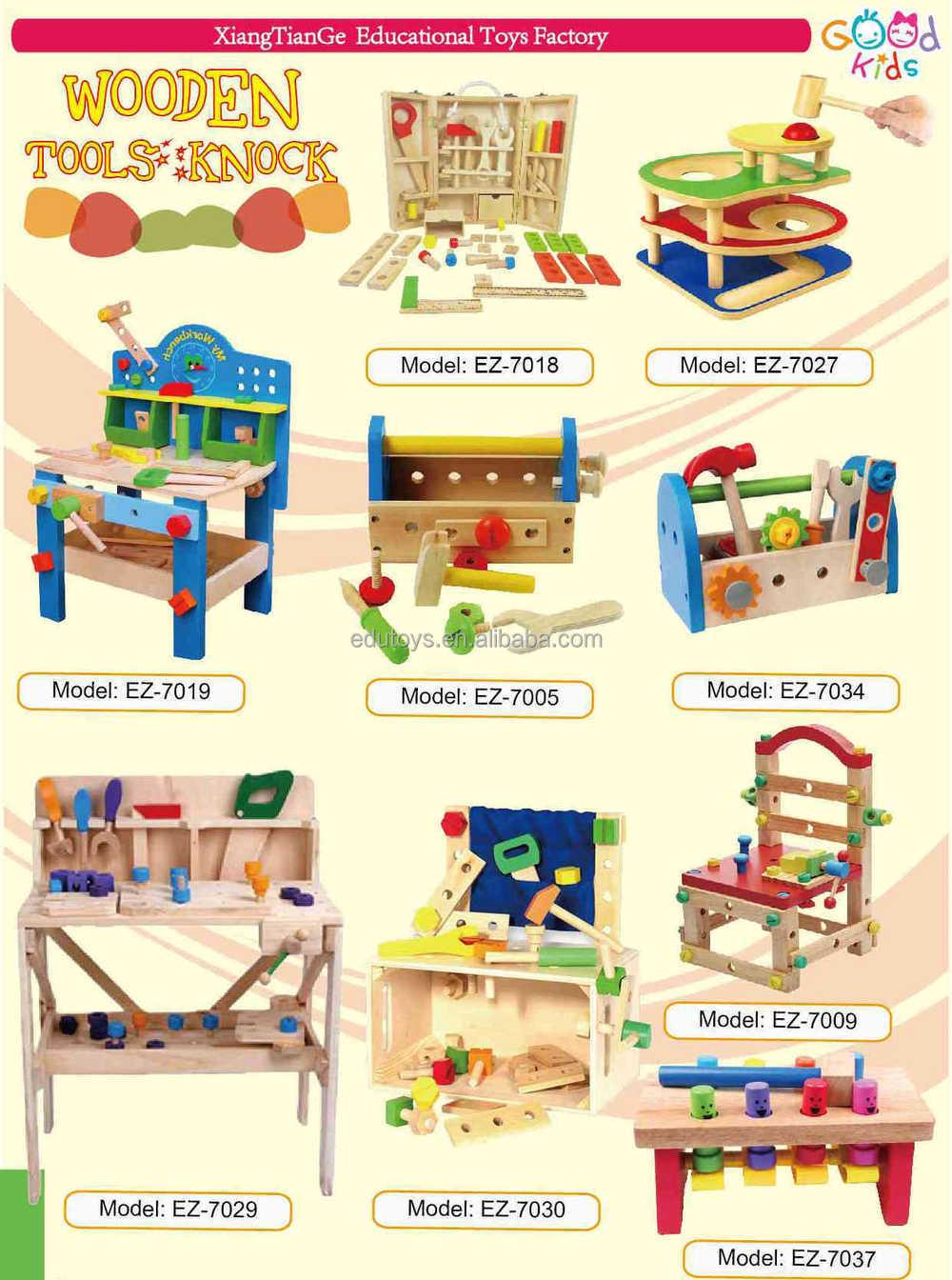 poco de carpintero rattan grande pinewood banco de juego de imaginacin juguete para los nios