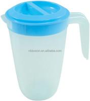 2L colored plastic pitcher