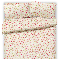 Reactive printing cotton bedding duvet Set