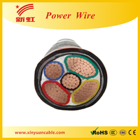 Copper conductor PVC insulated power cable/underground power cable/electric power cable