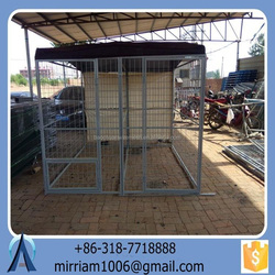 2016 hot sale new design dog kennel/pet house/dog cage/run/carrier