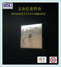 galvanized electrical terminal box for metal conduit
