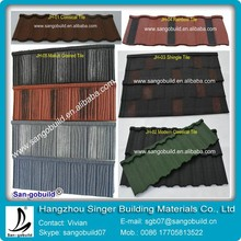 China Lowes Aluminum Type Sand Coated Metal Roofing Tile Cost
