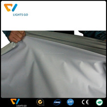 EN471 high light silver grey 4 way reflective stretch fabric
