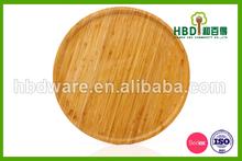 Tondo verticale piatto di bambù commerci all'ingrosso per
