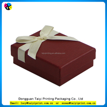 Customized printed paper box in packing with birthday