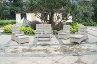 adjustable backrest sofa furniture, waterproof outdoor garden furniture, designer modern sofa