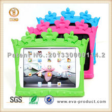 2015 fast selling Fashion crown design stand cover case for iPad mini