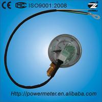 (Y-50) 50mm normal steel case plastic window digital gas cylinder gauge