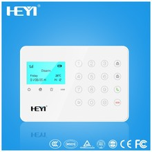 LCD gsm alarmanlagen alarm system with SMS function,home wireless security GSM alarm system Android with APP Android and IOS