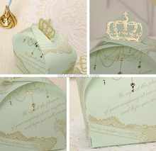 Wedding favors crown and joyful candy box packing box of creative personality box wedding supplies