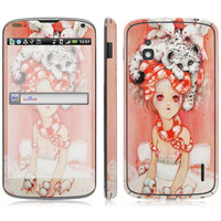 Beautiful Girl Vinyl Screen Protector For LG Series, for E960 sticker.