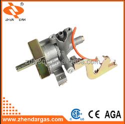 one gas inlet one gas outlet aluminum lpg gas valve lighter gas refill valve laite gas valve