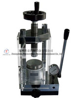 12T Laboratory Press with built in Hydraulic Pump & Safety Cover - YLJ-12