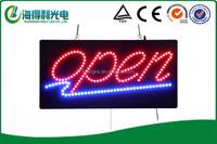 2015 NEW AMAZING eye-catching HIDLY acrylic led open sign