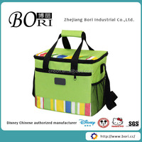 2014 Fashion insulated cooler bag with wheels whole foods lunch bag