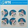 Customized Waterproof Vinyl Logo Sticker, Custom Shaped Die Cut PVC Sticker