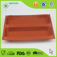 wholesale Silform Perforated silicone Bread form with 2 Loaf