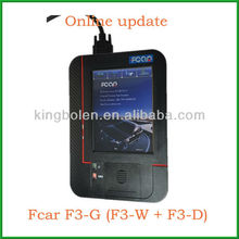 Multi-functional Fcar F3-G (F3-W + F3-D) for Gasoline and Diesel Heavy Duty Truck Diagnostic Scanner English/Russian Version