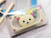 Mobile phone holder/Silicone slap phone holder/stand bear stand bumper case for samsung s4 i9500