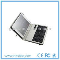 2013 Hot Selling swivel bluetooth keyboard case for ipad