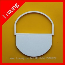 SGS ISO9001 14001 RoHS Certificate Custom Natural Clear Heat Protective Shrink die cut cpp plastic film