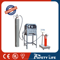 CO2 filling machine for recharge the CO2 fire extinguisher