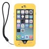 Waterproof Case Shockproof Dirtproof Stand Cover for Iphone 6 Plus 5.5 inch Yellow