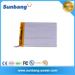 High rate discharge li-polymer 3.7v 500mAh lipo rechargeable battery 752540 rc lithium battery with long battery life