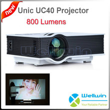Home theatre portable Projector UC40 LED mini beamer 800 lumens Proyector