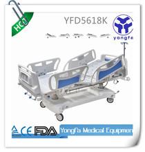 YDF5618K Hospital medical electric icu adjustable bed with massage D2