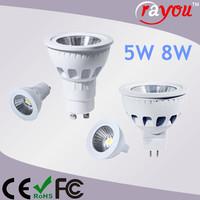 Daylight gu5.3 led lamp 220v, COB gu5.3 led dimmable, gu5.3 light bulb for ceiling lighting