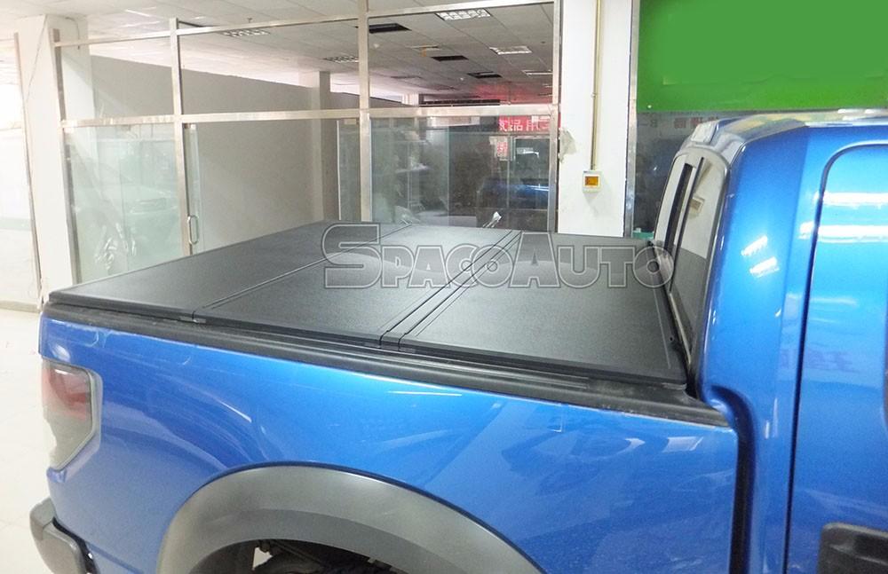 Hard Tri-Fold Tonneau Cover Accesorios For Ford Ranger 2006+