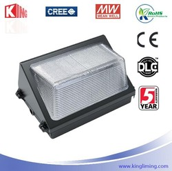 Canadian House / department LED for exterior IP65 60W 5400LM UL DLC ETL listed with Meanwell driver LED wall pack wall led light