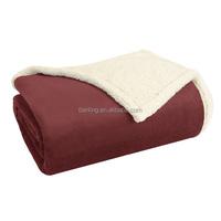 Micro Light Plush Fleece Alternative Throw Blanket