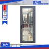 Hot sell Inward casement glass commercial Aluminum entry doors