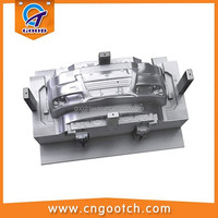 plastic injection mold design for auto parts bumper
