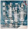 Reactors 150L 200L with glass distiller