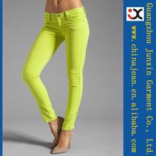 pantalones vaqueros con estilo 2013 diseño mujeres color pitillo (JXC29826)
