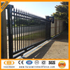 Freedom black aluminium fence gate