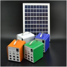 CE approved 5w lithium battery 4ah home solar kit photovoltaic